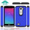 para LG C40 Leon Caso PC+TPU Luxury Bling Mobile Phone Caso con Standard