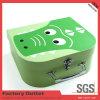 Caja de regalo de papel de encargo de la maleta del Libro Verde del precio de fábrica