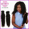 Les cheveux profonds indiens d'onde de nouvelle Vierge bon marché d'arrivée de cheveux de Quercy empaquettent les cheveux humains indiens initiaux