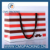 Elegantes Color Stripe Paper Bag für Packaging Gift oder Shopping