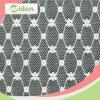 Nylon das telas do bordado do laço de Schiffli e tela elástica do laço do Spandex