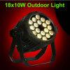 Wasserdichte IP65 18X10W Aliuminum 4in1 Wäsche-Studio-Beleuchtung