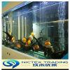 El acuario de acrílico transparente de gran tamaño modificó para requisitos particulares