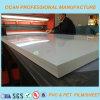 Hoja brillante blanca rígida del PVC para el panel de emparedado