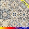 azulejo de suelo rústico decorativo de la porcelana de 600*600m m con los modelos de flor de la inyección de tinta