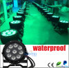 ディスコLight LED 9CS*10W Outdoor PAR Light Stage Light