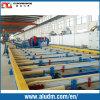 Nouveau Design Magnesium Profile Extrusion Machine dans Aluminum Extrusion Machine Line