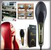 2016 nuevos hierros el 100% originales del peine de la enderezadora del pelo del cepillo vienen con enderezarse eléctrico del peine del pelo recto de la exhibición del LCD