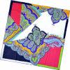 Шарф повелительницы Способа напечатанный Paisley квадратный Silk (HC1315-1)