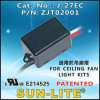 190W Limit Control Switch (For 천장 선풍기 Light 장비)