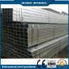 Tubo/tubería cuadrados de acero pre galvanizados sumergidos calientes