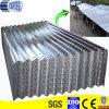 La lamina di metallo ondulata galvanizzata del tetto, zinca la lamiera di acciaio rivestita