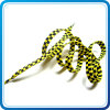 Plastic Clip를 가진 최신 Sale 8mm Black와 Yellow Shoe Laces Gift Items