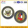 Los militares del águila de los E.E.U.U. de la alta calidad desafían la moneda