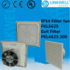 China Factory Made Cabinet Air Pumping Fan com o Filter para o quarto de Electronic Scada Data Cabinet (FKL6625)