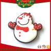 Boneco de neve Santa dos ímãs do refrigerador do PVC dos presentes do Natal (RC-CR022)