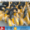 Crane resistente Rope Pulley Blocks, 3t Double Pulley Hook