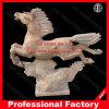 Marmeren Standbeeld van het Beeldhouwwerk van het paard het Marmeren voor de Decoratie van het Hotel van het Huis van de Tuin