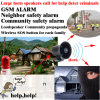 Ayuda del G/M para la alarma vecina el SOS, seguridad de la comunidad