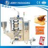 Máquina de embalagem de empacotamento de enchimento do pacote da pasta líquida cosmética automática das Dobro-Fileiras