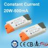 20W 500mA konstante Stromversorgung des Bargeld-LED mit TUV SAA