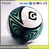 高度機械昇進のカスタマイズされたロゴのロゴによって印刷される実質の革サッカーボールのサイズ5