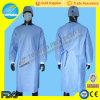 Wegwerfbares PP/SMS nichtgewebtes Spunlace chirurgisches Kleid