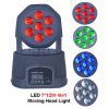 Diodo emissor de luz Hot Sale Mini 7PCS*12W 4in1 Moving Head Wash Light