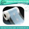 Película laminada das matérias- primas do tecido do bebê centro não tecido para o tecido Backsheet.