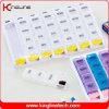 28 케이스 (KL-9048)를 가진 플라스틱 Push Button Pill Box