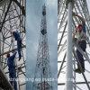 Tour en acier galvanisée de télécommunication de la cornière 4legs d'IMMERSION chaude