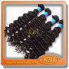 Clip riccia crespa nelle estensioni dei capelli, gruppi brasiliani dei capelli del grado 8A, massa brasiliana dei capelli umani