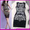 Vestido de noche de 2014 de calidad superior elegante Tulle de gama alta para la Mujer