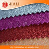 China Wholesale Fine Glitter Leather para o papel de parede