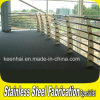 2mm Thickness Stainless Steel Guardrail per Balcony