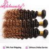 Pelo humano de Ombre para el tejido, diversos tipos pelo chino de la Virgen