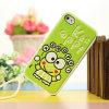 Piel suave de la cubierta de la caja del silicón de los animales lindos de Keroppi para iPhone4 4G 4s