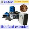 Tipo asciutto macchina della singola vite dell'alimento di pesci di /Floating dell'espulsore dell'alimentazione dei pesci