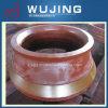 Acier de manganèse élevé d'équipement minier moulant les pièces concaves de broyeur