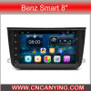 Android pur 4.2.2 Car GPS Player pour Benz Smart 8 '' avec A9 CPU 1g RAM 8g Inand Capacitive Touch Screen GPS Bluetooth (AD-1150)