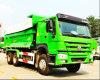 HOWO 6X4 25 톤 새로운 디자인 U 유형 덤프 트럭
