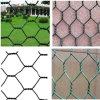 Клетки ячеистой сети стального провода шестиугольные гальванизированные животные