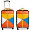 Equipaje de cuero del recorrido, manera Trolley&Luggage (KLS324)