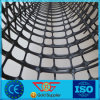 40kn pp Geogrid met Grootte 3.95m*50m van het Broodje en OpeningsMaaswijdte 57mm*57mm