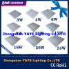 Yaye venta caliente 3W / 4W / 6W / 9W / 12W / 15W18W / 20W / 24W luz del panel LED / lámpara del panel LED