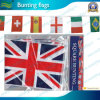 Decoration (T-NF11F06021)のためのイギリスのPE Material Bunting Flags