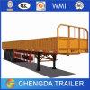 Carga de maioria do transporte do reboque da parede lateral do uso do reboque do caminhão