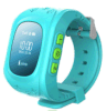 Reloj elegante Q50 del perseguidor del GPS de los cabritos con la función que llama del G/M SOS para el reloj de los cabritos de los niños