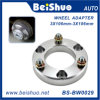 3 adaptador de la rueda de la aleación de aluminio de los orificios PCD 3X106