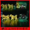 LED Outdoor Christmas Decoration ReindeerおよびSleigh Light